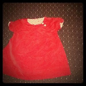 Nursery Rhyme play red dress size 6 - 9 mos.